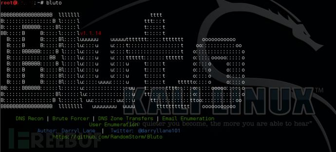 杀器BLUTO:DNS探测+域名猜解+邮箱枚举